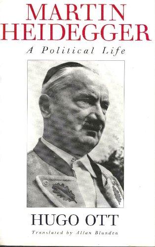 9780465028986: Martin Heidegger: A Political Life