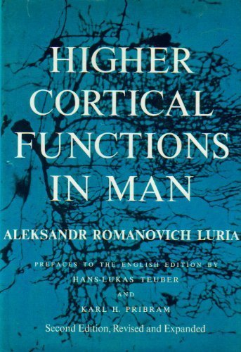 9780465029600: Higher Cortical Functions in Man, 2nd Edition