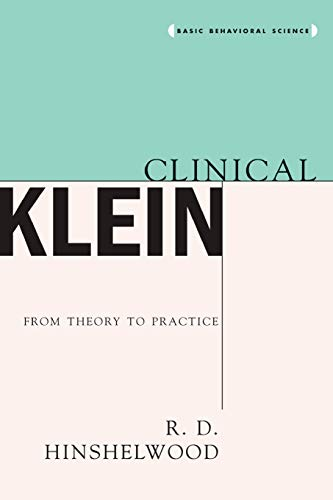 9780465029754: Clinical Klein