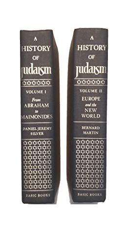 9780465030088: History Of Judaism 2 Vol Set