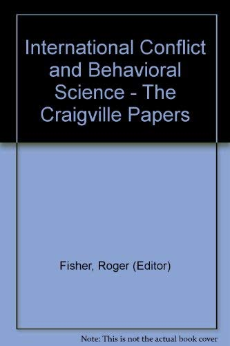 9780465033614: International Conflict and Behavioral Science