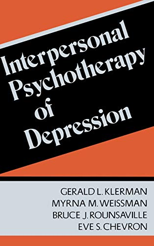 9780465033966: Interpersonal Psychotherapy Of Depression