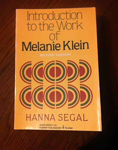9780465035847: Introduction To The Work Of Melanie Klein