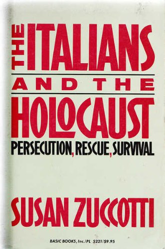 9780465036219: Italians And The Holocaust