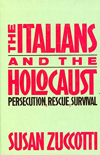 9780465036226: Italians & The Holocaust
