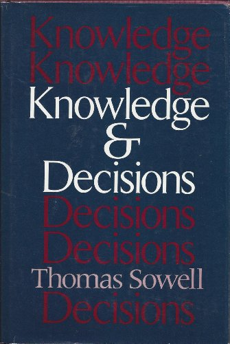 9780465037360: Knowledge & Decisions