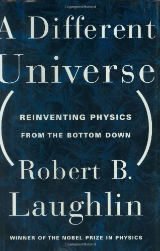 9780465038282: A Different Universe: Reinventing Physics from the Bottom Down