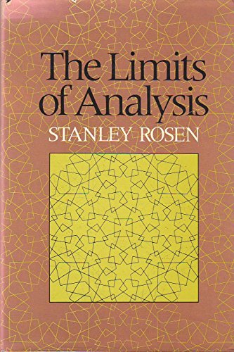 9780465040988: Limits Of Analysis