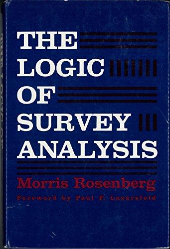 9780465042050: Logic Of Survey Analysis
