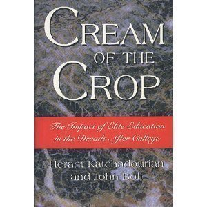 9780465043439: Cream Of The Crop: The Impact Of Elite Education In The Decade After College