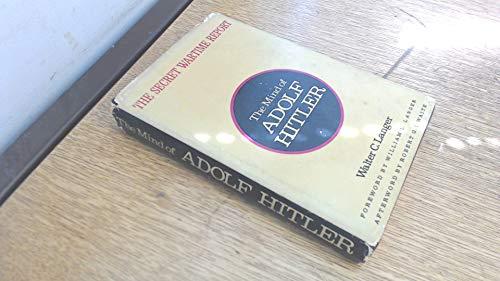 9780465046201: Mind Of Adolf Hitler