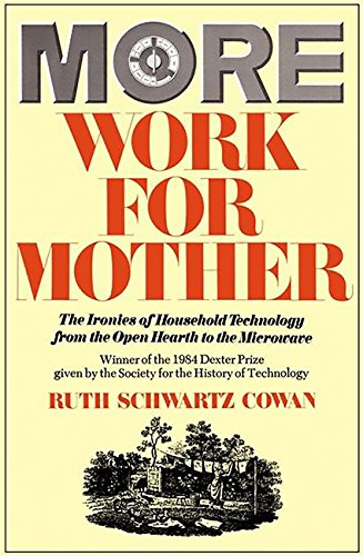 9780465047321: More Work For Mother: The Ironies of Household Technology from the Open Hearth to the Microwave