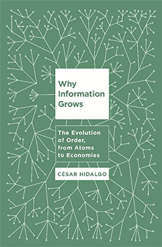 9780465048991: Why Information Grows: The Evolution of Order, from Atoms to Economies