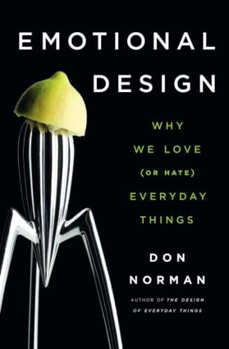 9780465051366: Emotional Design: Why We Love (or Hate) Everyday Things