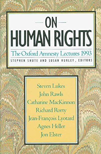 9780465052233: On Human Rights: The Oxford Amnesty Lectures 1993