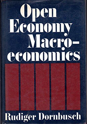 9780465052868: Open Economy Macroeconomics