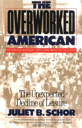 9780465054343: The Overworked American: The Unexpected Decline Of Leisure