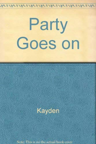 9780465054534: Party Goes On