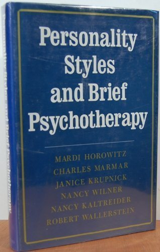 9780465055753: Personality Styles and Brief Psychotherapy