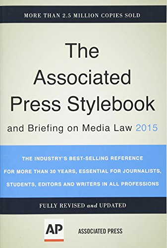 9780465062942: Associated Press Stylebook 2015 (Associated Press Stylebook and Briefing on Media Law)