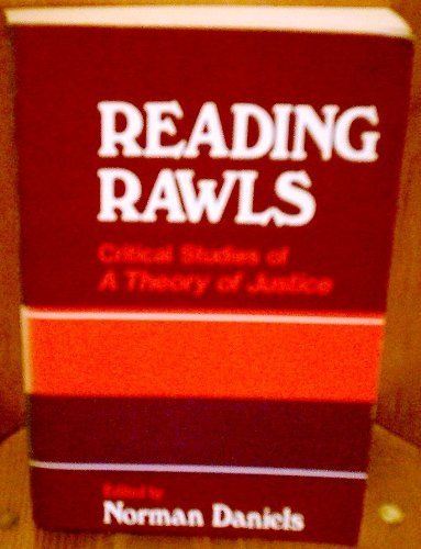 9780465068555: Reading Rawls: Critical studies on Rawls' A Theory of Justice