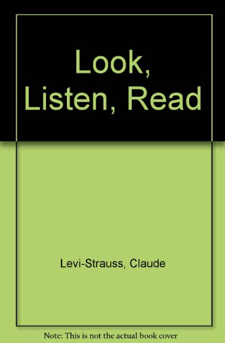 9780465068814: Look, Listen, Read