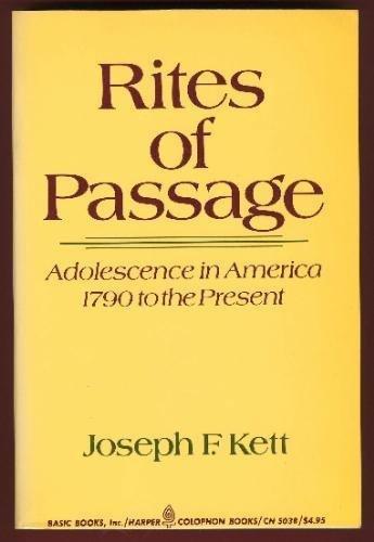 9780465070442: Rites Of Passage