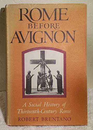 9780465071258: Rome Before Avignon