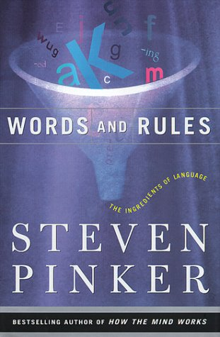 9780465072699: Words And Rules: The Ingredients Of Language (Science Masters Series)