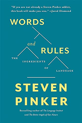9780465072705: Words and Rules: The Ingredients Of Language (Science Masters Series)