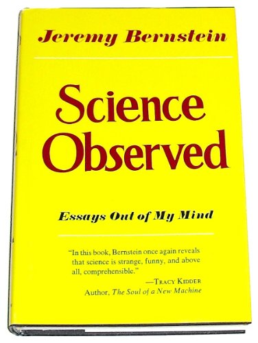 Science Observed.: Bernstein, Jeremy