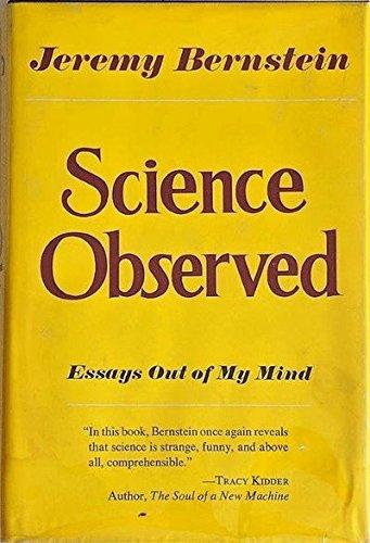 Science Observed: Bernstein, Jeremy