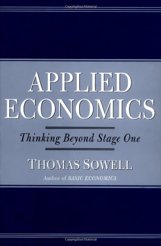 9780465081431: Applied Economics: Thinking Beyond Stage One