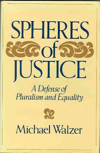 9780465081905: Spheres Of Justice