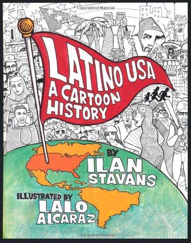 9780465082216: Latino USA: A Cartoon History
