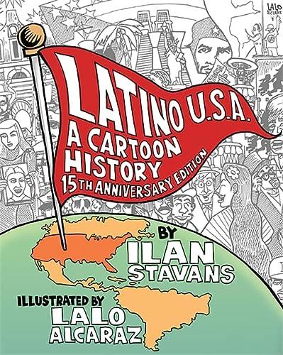 9780465082506: Latino U.S.A.: A Cartoon History