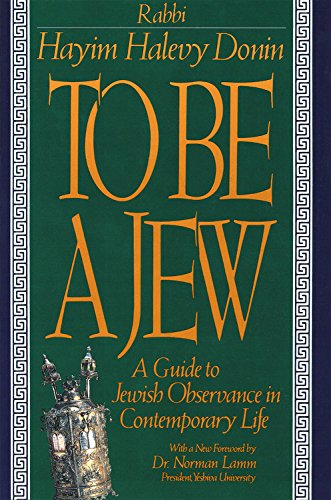 9780465086320: To Be A Jew: A Guide To Jewish Observance In Contemporary Life