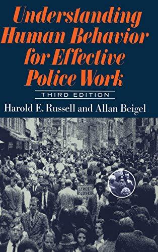 9780465088591: Understanding Human Behavior for Effective Police Work