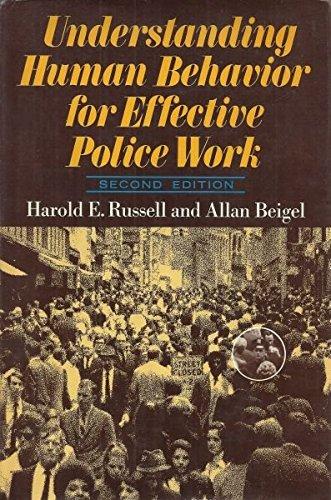 9780465088621: Understanding Human Behaviour for Effective Police Work