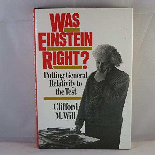 9780465090884: Was Einstein Right