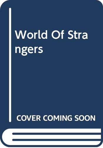 9780465092420: World of Strangers: Order and Action in Urban Public Space