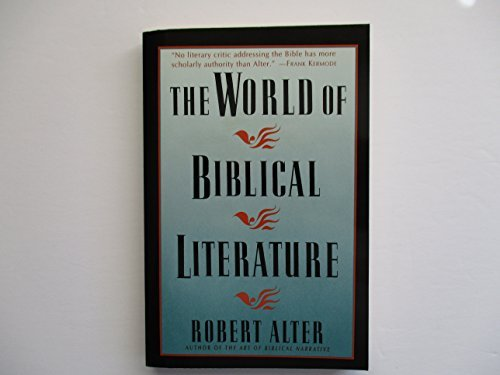 9780465092567: The World Of Biblical Literature