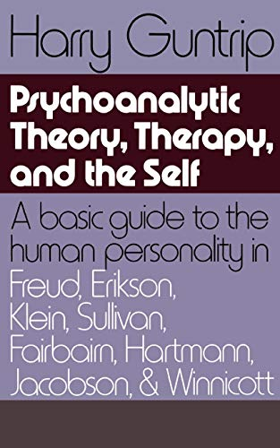 9780465095117: Psychoanalytic Theory, Therapy, And The Self