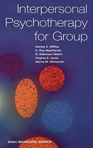 9780465095698: Interpersonal Psychotherapy for Group