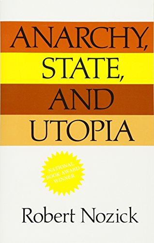 9780465097203: Anarchy, State and Utopia. Blackwell. 1974 or later impression.