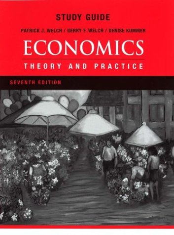 9780470000250: Study Guide to accompany Economics: Theory and Practice, 7th Edition