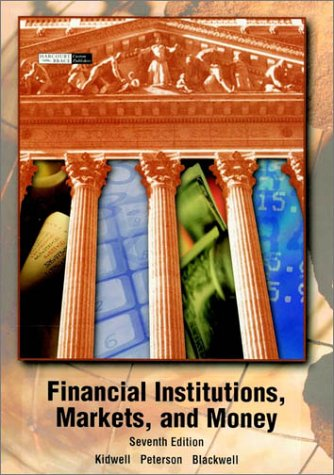 9780470000618: Financial Institutions, Markets and Money (The Dryden Press series in finance)