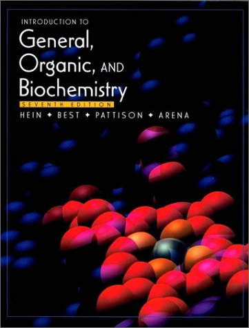 9780470001370: Introduction to General, Organic, and Biochemistry