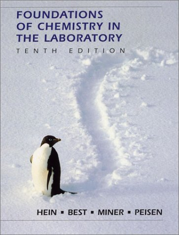 9780470001486: Foundations of Chemistry in the Laboratory