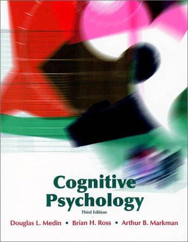 9780470001714: Cognitive Psychology